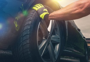 markings on your tires