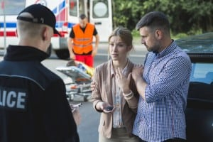 After a Car Wreck: Provide the Facts, Skip the Apologies