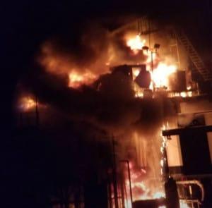 Lake Pontchartrain Oil Rig Explosion
