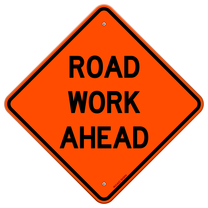 What to Do When Driving by Road Work Zones   Houston Car Accident Attorney